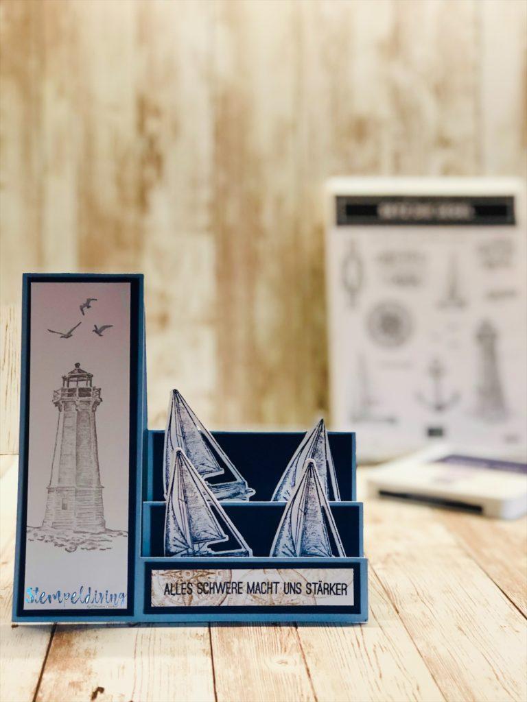 Step Fold Card mit dem Stempelset Setz die Segel